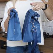 Термосумка Lunch bag M PLUS синя