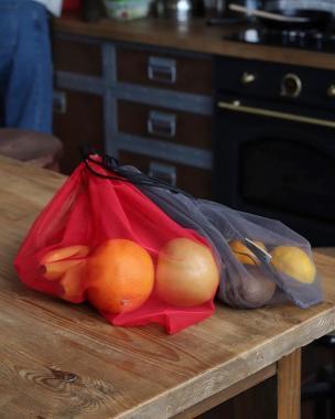Багаторазові торбинки сіточки для покупок 3 шт
