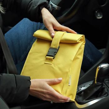 Термосумка Lunch bag M жовта
