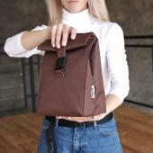 Термосумка Lunch bag M коричнева