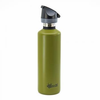 Спортивная бутылка для воды Cheeki Single Wall 750 мл Active Bottle - Khaki