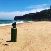 Спортивная бутылка для воды Cheeki Single Wall 750 мл Active Bottle - Surf