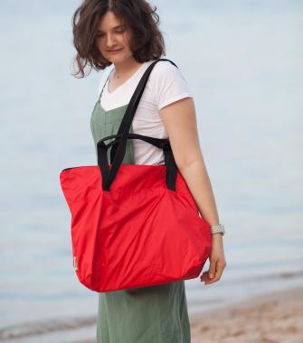 Универсальная легкая сумка красная FLY BAG NEW