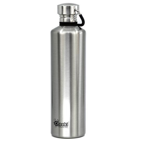 Бутылка для воды Cheeki Classic Single Wall 1литр Silver