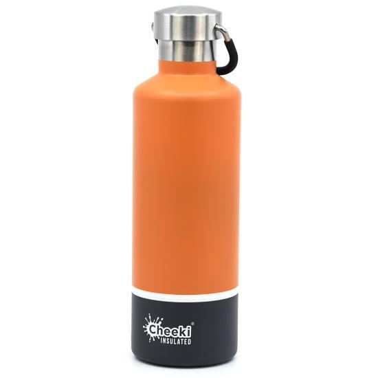 Термос Cheeki Classic Insulated 600мл Orange grey
