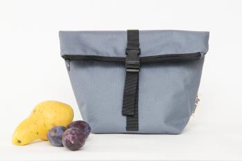 Термосумка Lunch bag S сіра