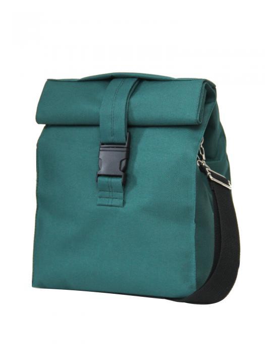 Термосумка Lunch bag M+ зелена