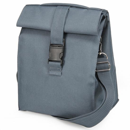 Термосумка Lunch bag M PLUS сіра