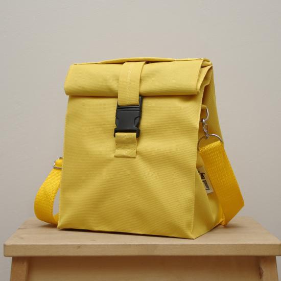 Термосумка Lunch bag M PLUS жовта