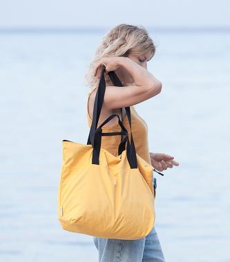 Универсальная легкая сумка желтая FLY BAG NEW