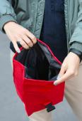 Термосумка Lunch bag M красная