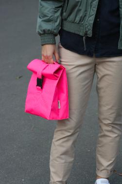 Термосумка Lunch bag M рожева